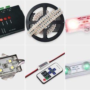 Светодиоды и комплектующие