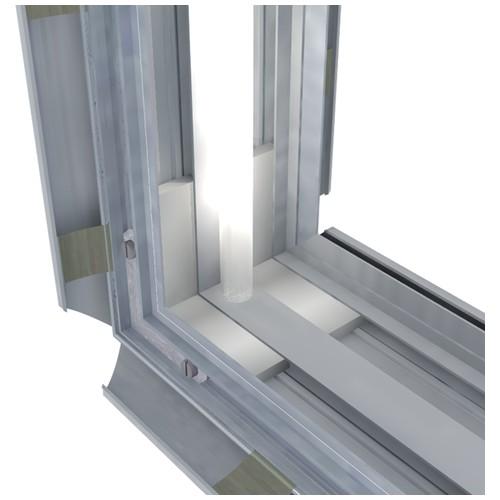 Профиль базовый короб ClicBox 100 мм 2-стор. - cb-ba100-2mf - neokrashennaya