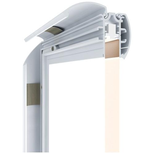 Профиль крышка для световых панелей PanelLED EL - pl-el030-1mf - neokrashennaya - bez-tsveta