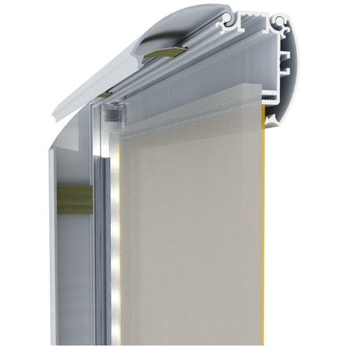 Профиль крышка для световых панелей PanelLight 58 мм EL - pl-el058-1sm - 6