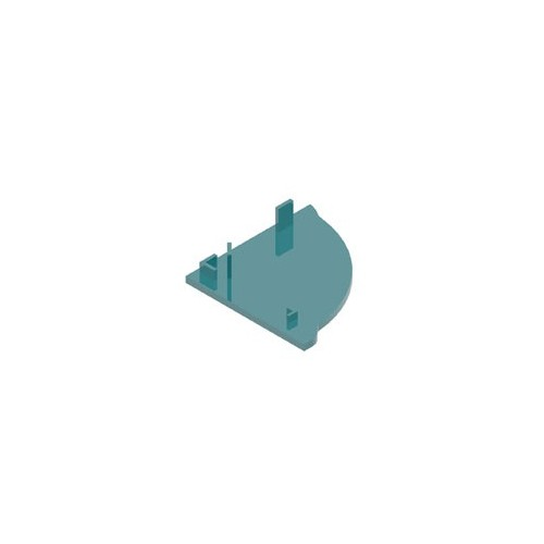 Крышка полка для ArmLED (ПВХ) - ac-cp040-l