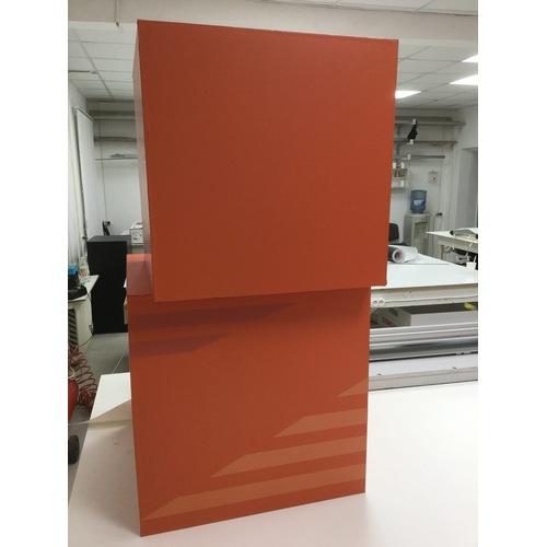 Куб торговый декоративный - 1000x1000x100 - plastik-gebau-2-mm
